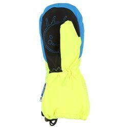 Reusch MAXI Rękawiczki z jednym palcem neon yellow/brilliant blue