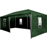 Namioty ogrodowe, PAWILON OGRODOWY 3x6 6 ŚCIANEK NAMIOT HANDLOWY - Zielony