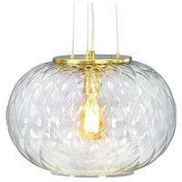 Lampy sufitowe, LAMPA wisząca BOUTIQUE 107003 Markslojd szklana OPRAWA kula ball przezroczysta