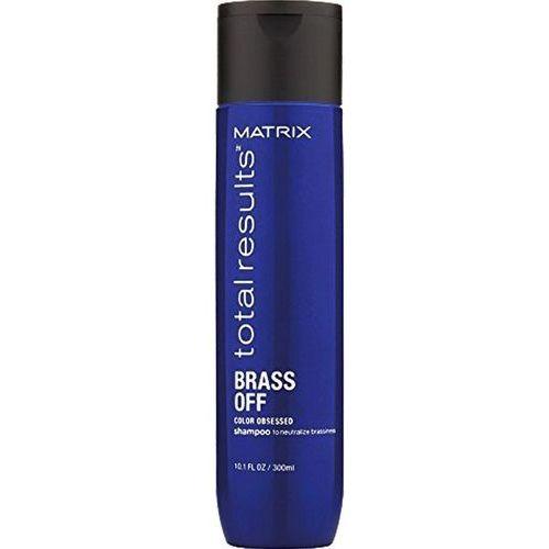 Odżywianie włosów, Matrix BRASS OFF szampon ochładzający odcień 300ml