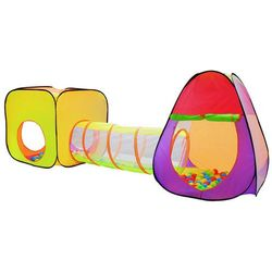 Namiot domek iglo z tunelem dla dzieci 3w1 + piłki