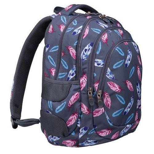 Tornistry i plecaki szkolne, ST.RIGHT Plecak szkolny 4 komory Indian Feathers