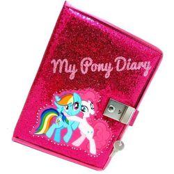 Pamiętnik zamykany z diamentami My Little Pony