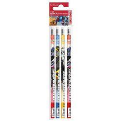 Ołówek z gumką STARPAK 244180 Transformers (4 sztuki)