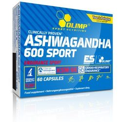 OLIMP Ashwagandha 600 Sport Edition (KSM-66) 60 KAPS