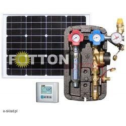 Autonomiczny zestaw zasilająco-sterujący FOTTON POWER 2DC D5 do kolektorów słonecznych