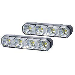 Komplet lamp jazdy dziennej LED 4 diodowe LDR2106